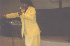 Dr. Juliet makes an impact with her voice whether she is preaching or speaking